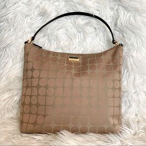KATE SPADE vintage hobo style jacquard  bag
